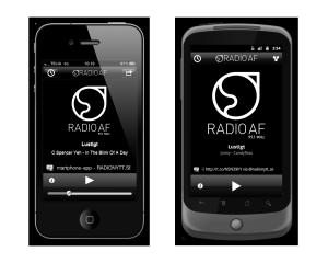 Radio AF app